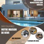 Flyer immobilier graphiste montpellier